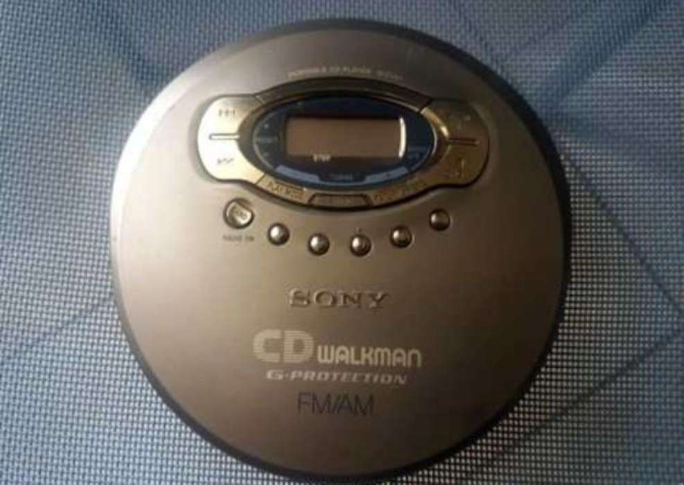 Discman Sony con Radio Fm Am