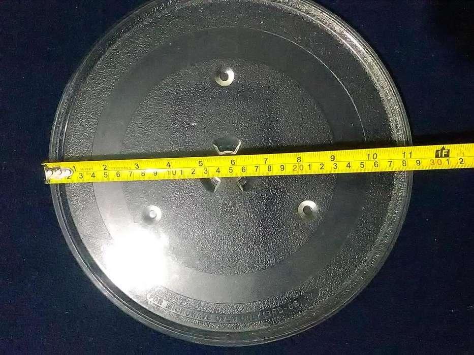 Plato de vidrio microondas (28.5 cms. diametro)