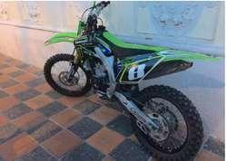 Moto Kawasaki KXF 450 2011 Como nueva