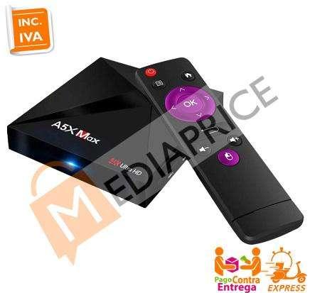 TV Box A5X MAX RK3328 4GB/32GB Android 7.1 Bluetooth WIFI