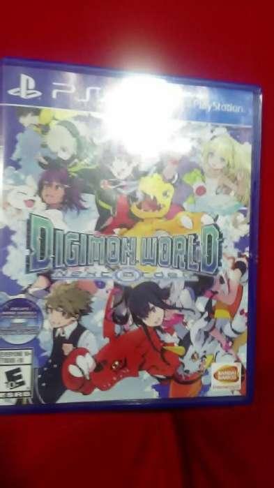 Digimon Ps4 Cambio O Vendo