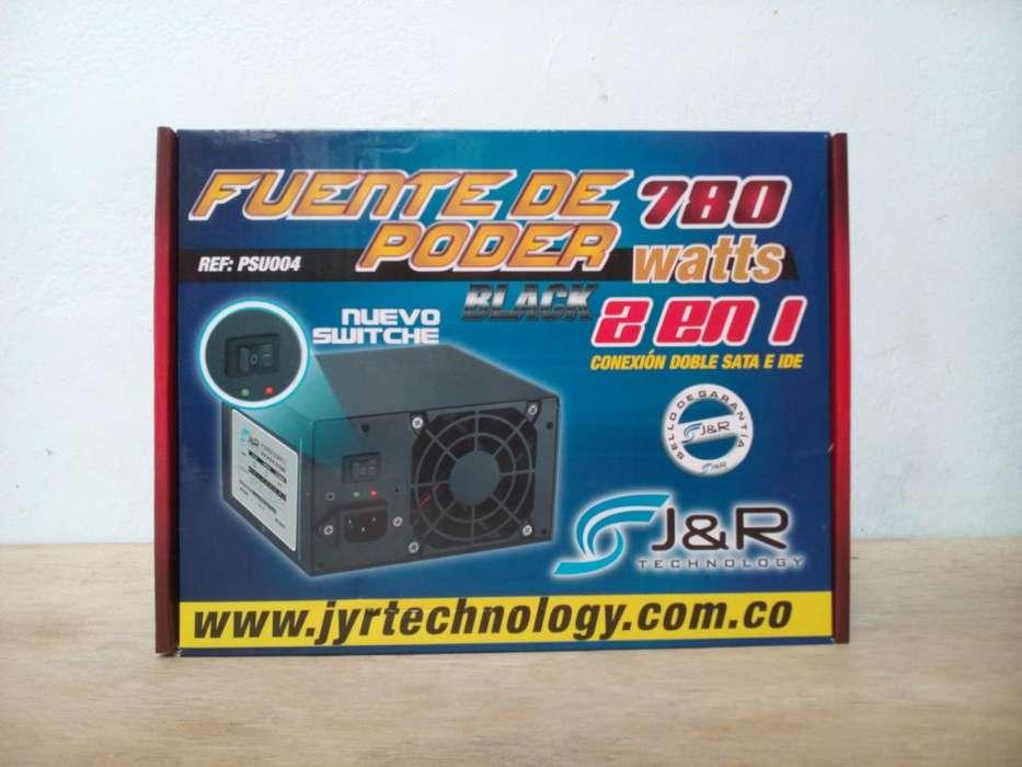 FUENTE DE PODER ATX PARA PC / NUEVA / 780 W