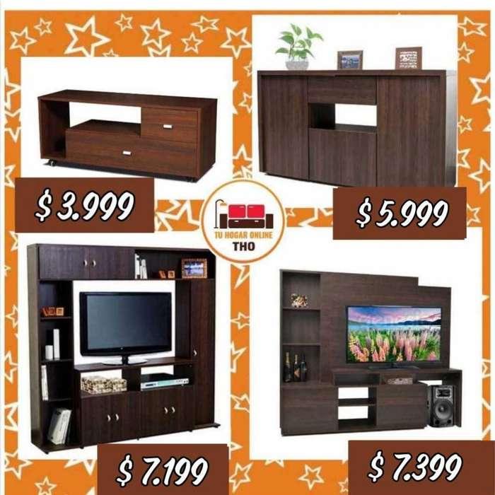 Rack para TV // Línea Florencia // Modulares y <strong>mesa</strong>s para TV // Tu Hogar Online