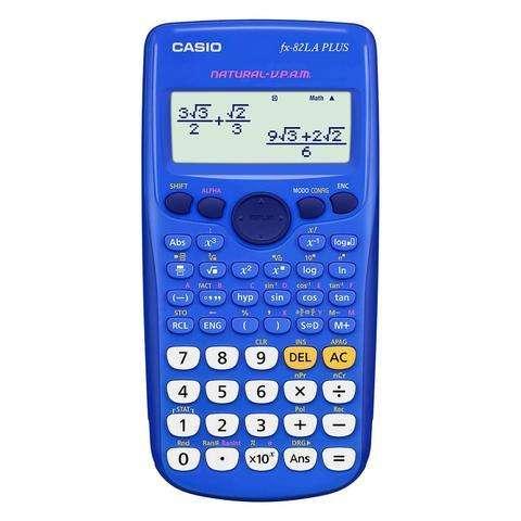 <strong>calculadora</strong> Cientifica Casio Fx 82 Plus 252 Funciones Nueva