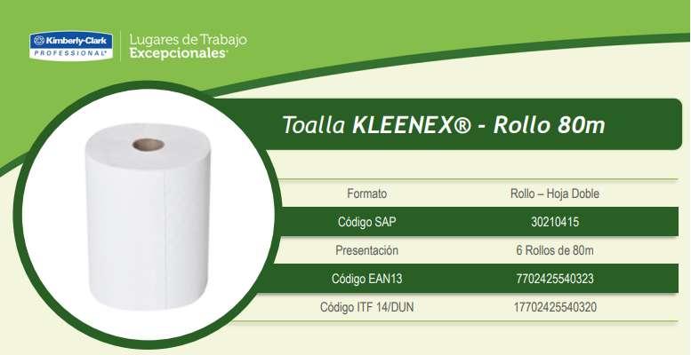 Toallas De Manos En Rollo Kleenex