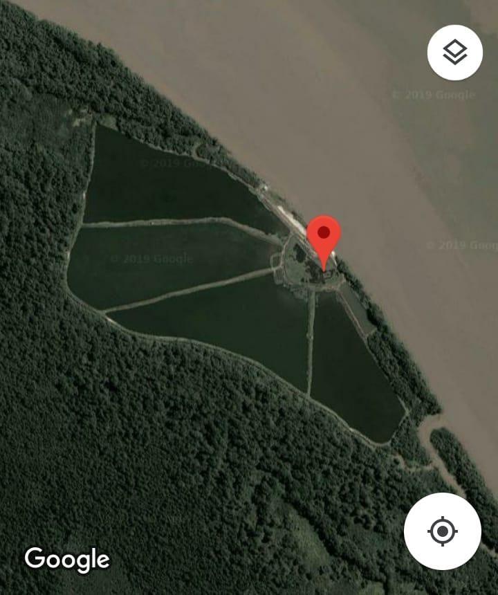 Terreno-Camaronera 50 Ha. Vendo en Isla Matorrillos