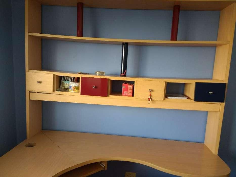 Biblioteca Y <strong>escritorio</strong> Esquinero