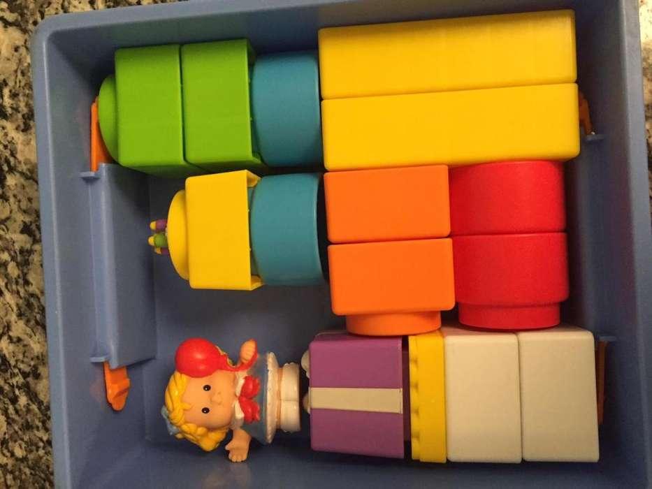 Juego Little People Builders Build'n Carry Birthday