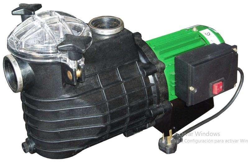 BOMBAS AUTOCEBANTES PARA PISCINAS CZERWENY 220 V 50 Hz. MODELOS: (EBA 050) (EBA075), (EBA100)