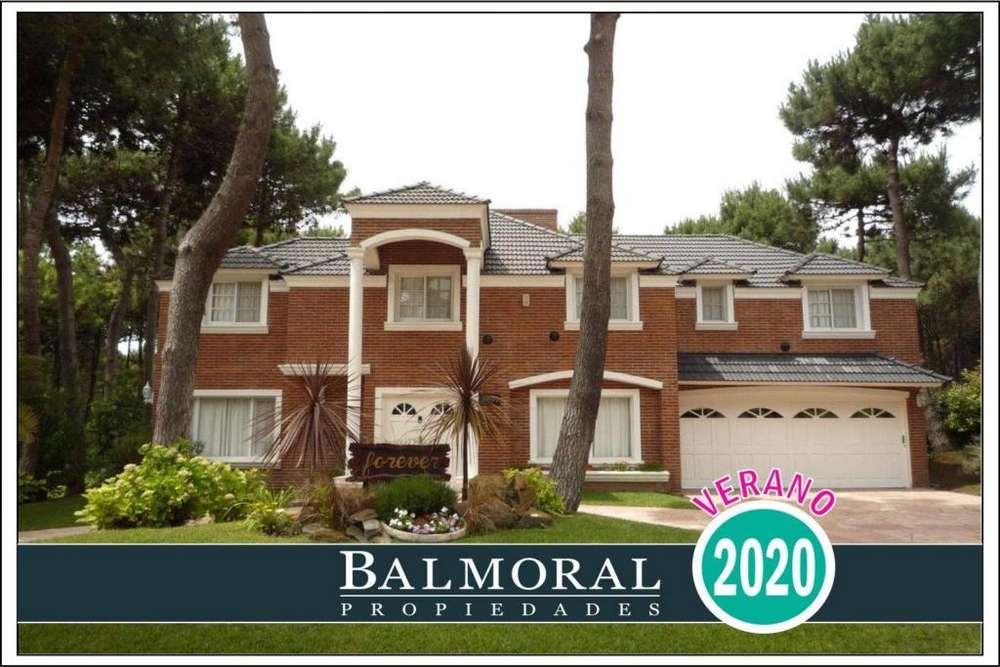 Ref: 8957 - Casa en alquiler, Pinamar Norte , Norte Tennis Ranch