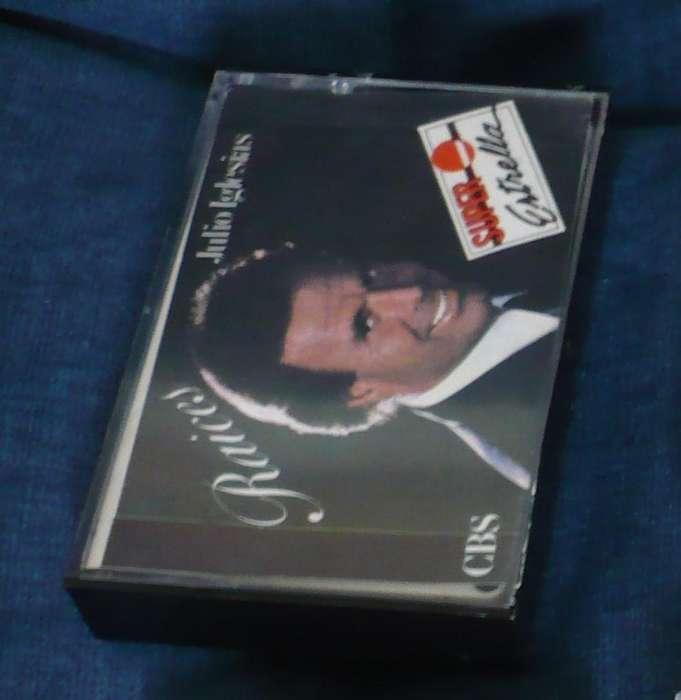 Julio Iglesias Raíces Cassette Balada casete