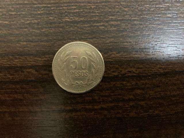 Moneda 50 Pesos de Colombia