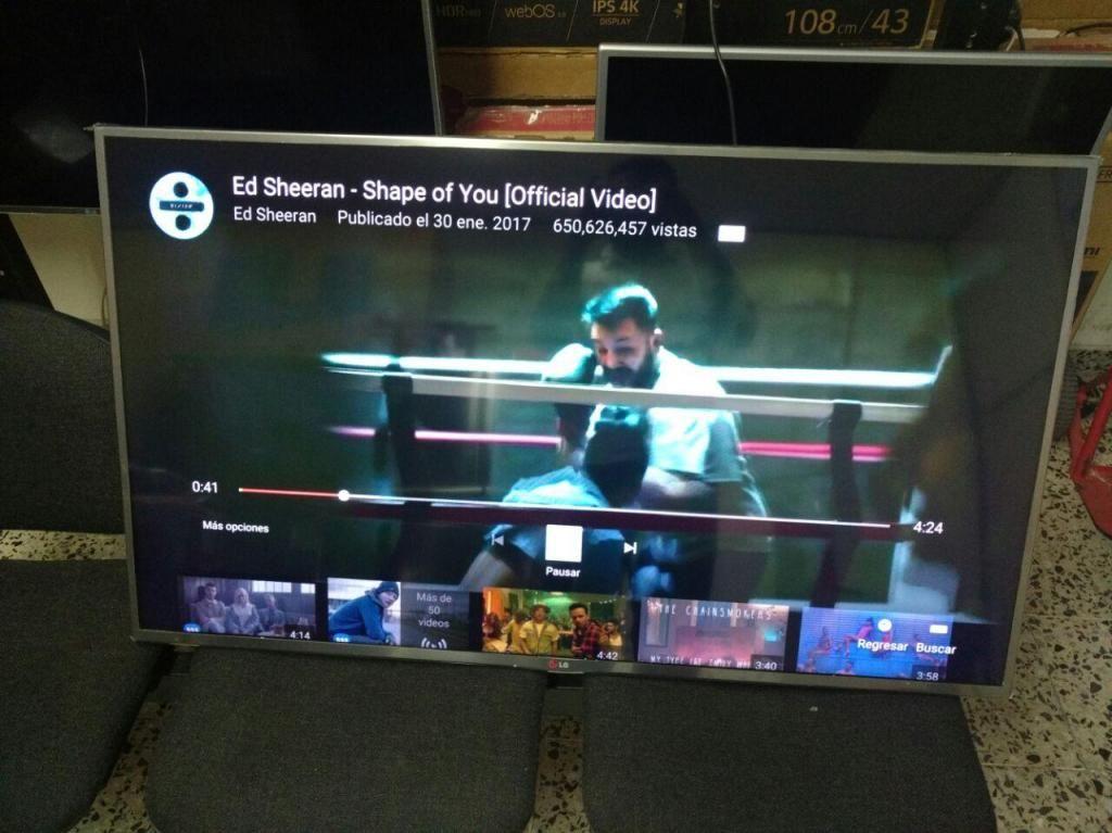 """¡ ULTIMA UNIDAD! LED LG 65"""" SMART TV 4K"""