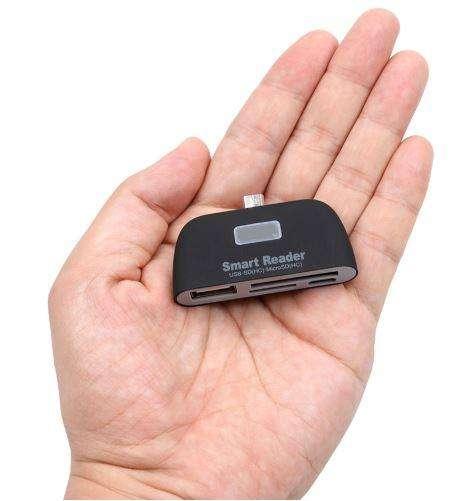 Lector De Memorias Micro Usb Otg / Tf / Sd Smart Flash