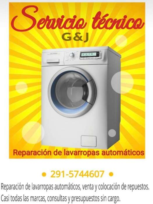 Reparacion de Lavarropas Automaticos