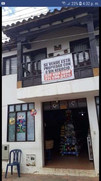 VENDO <strong>local</strong> COMERCIAL CON APARTAMENTO EN SACHICA