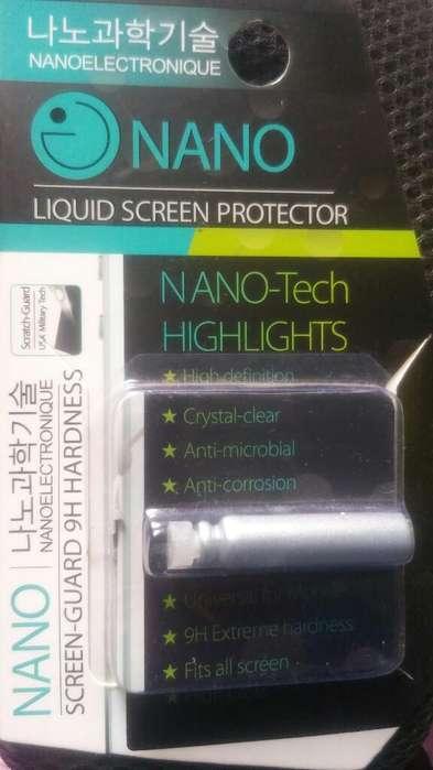 Liquido Protector de Pantallas Nano Tech