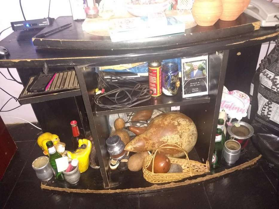 Mesa para Tv Negra