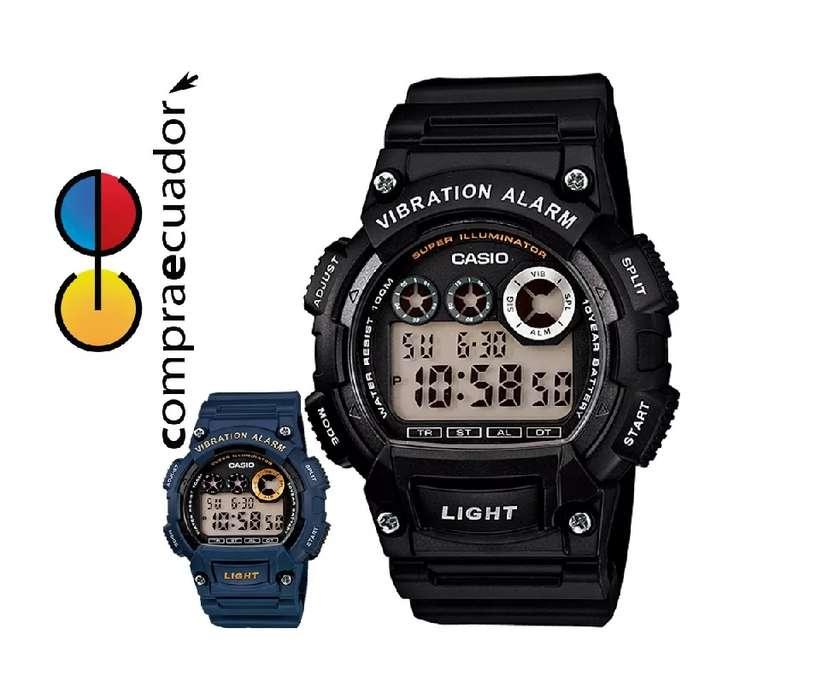 <strong>casio</strong> Reloj Hombre W735H Cronometro Alarma Vibracion 10 año