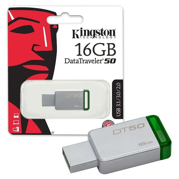 Memoria USB 16GB 3.0 Kingston