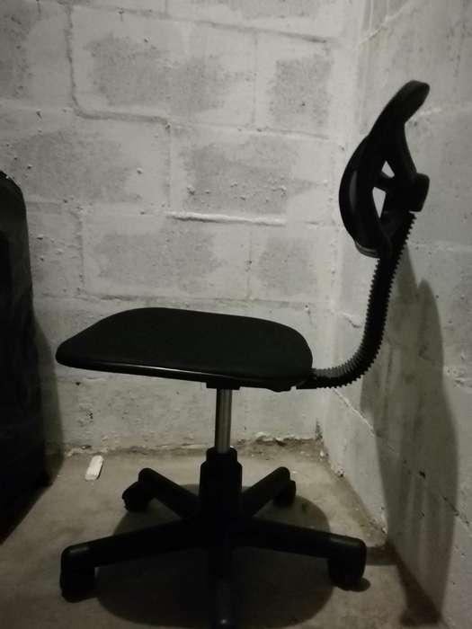 Silla para escritorio con rodachines