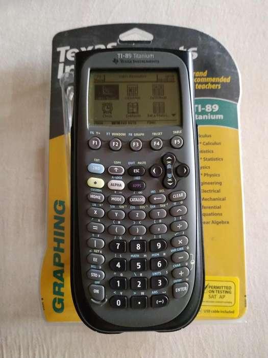 <strong>calculadora</strong> Graficadora Texas Instruments Ti-89 Titanium