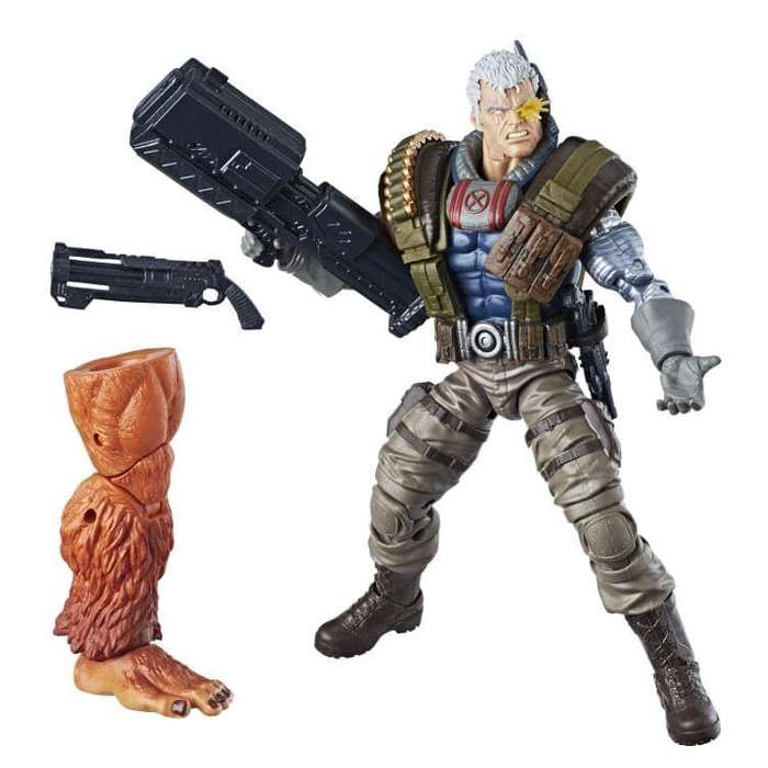 Figura Marvel Legends Cable baf Sasquash