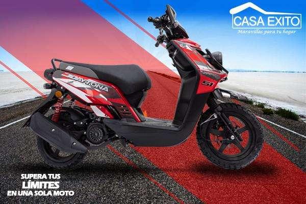 Daytona Dy180 S1Evo 180cc Año 2019 Color Rojo / Negro Casa Éxito