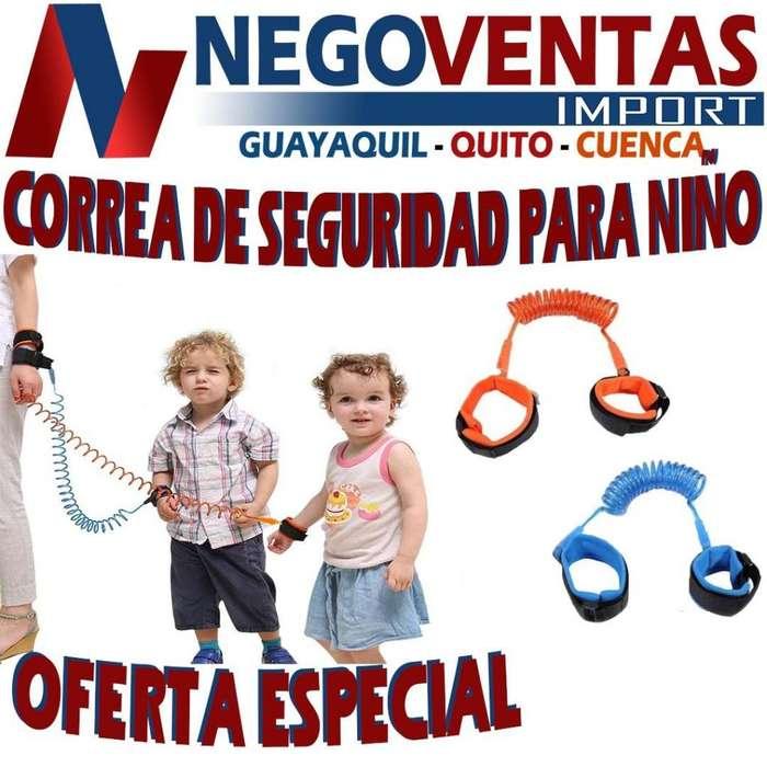 CORREA DE SEGURIDAD PARA NIÑOS Y NIÑAS DE OFERTA