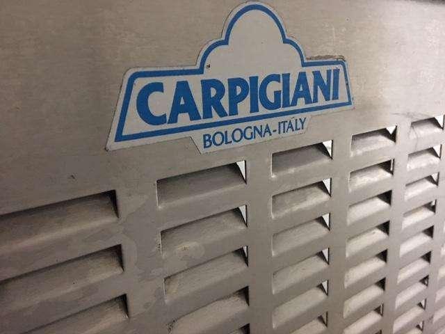 Maquina Piscina Salmuera para helados de paleta Carpigiani