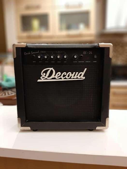 Amplificador de Guitarra Decoud Rs 26 ,
