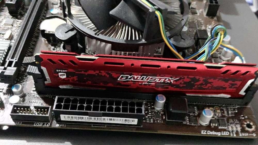 Combo Core I5 7400 con Ram Ddr4 Séptima