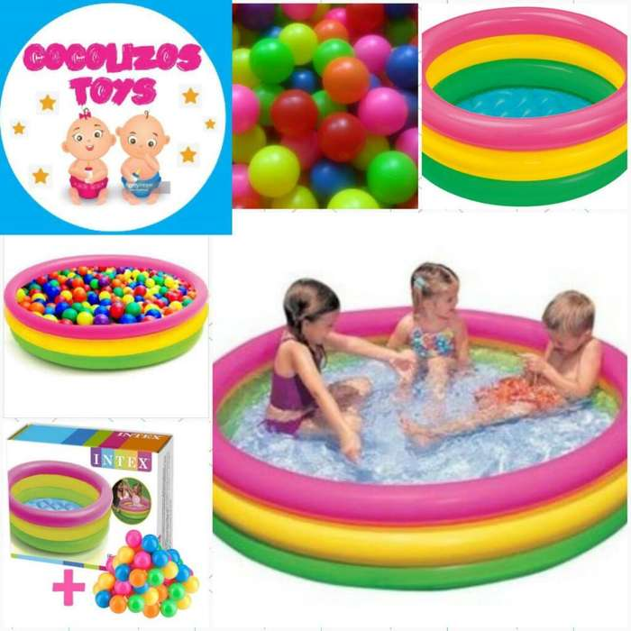 accfe6d88 Piscina Inflable Multicolor 100<strong>pelotas</strong>