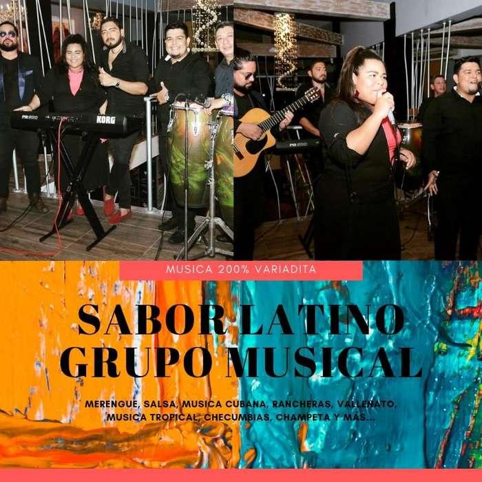SABOR LATINO MUSIC BAND ORQUESTA (Grupo Musical) Montería Córdoba