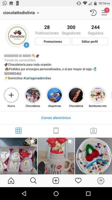 Visita Nuestro Perfil en Instagram