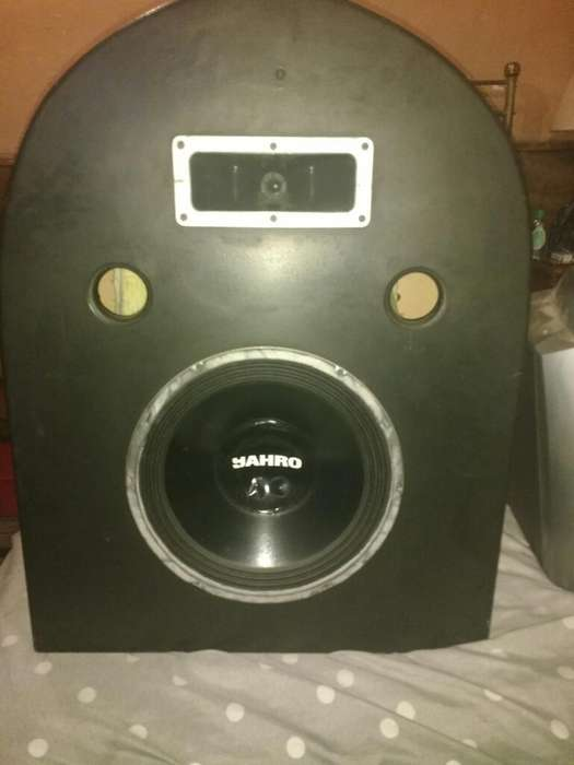 Parlante <strong>caja</strong> Woofer Y Tweeter Yahro