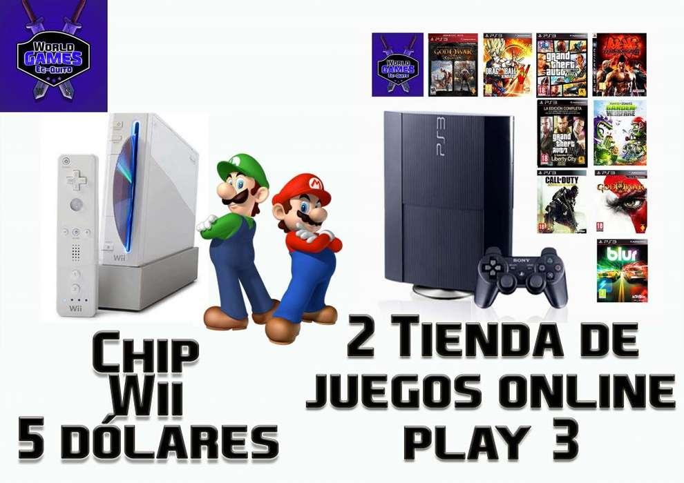 Nintendo Wii Y Play 3 ps3