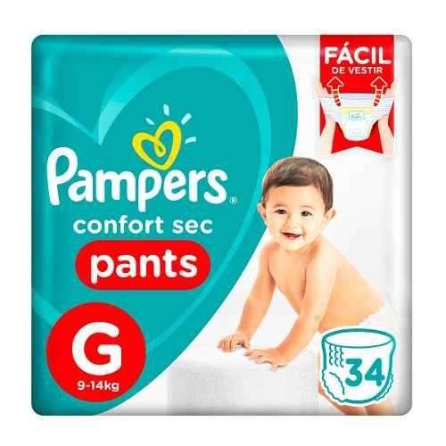 Pañal bebe Pampers Pants todos los talles Gx34 XGx30 XXGx26 lanus zona sur