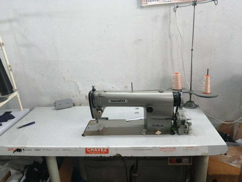 Maquina Recta Dawoo, Industrial