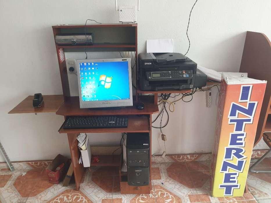 Montaje para Cafe Internet