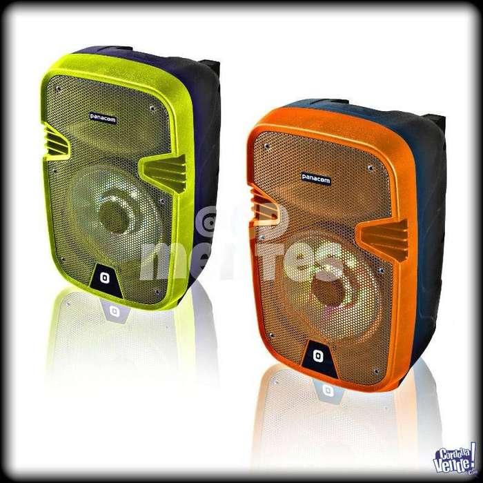 PARLANTE portatil <strong>karaoke</strong> Panacom Bluetooth Cod. SP3108CM