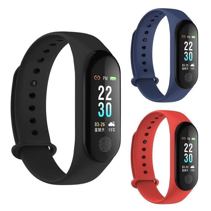 Smart Watch M3 Plus Band Reloj Pulsera Inteligente Bluetooth