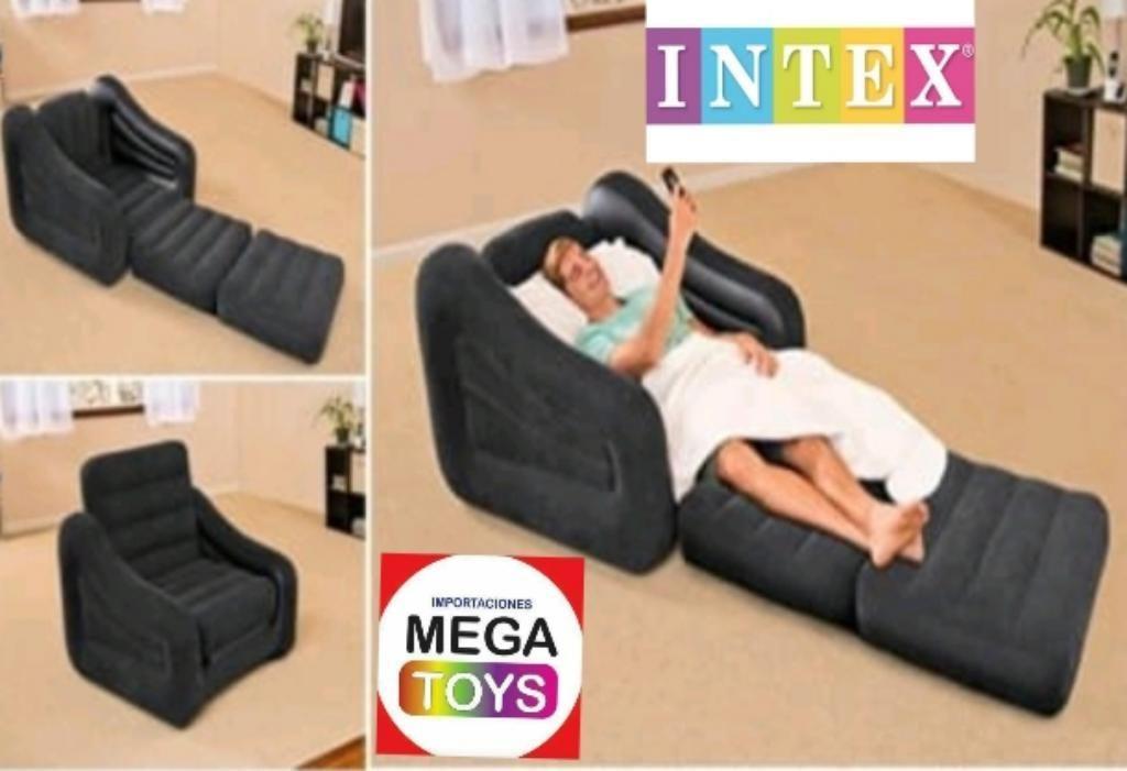 Sofa Cama Inflable de 1 Plaza Intex