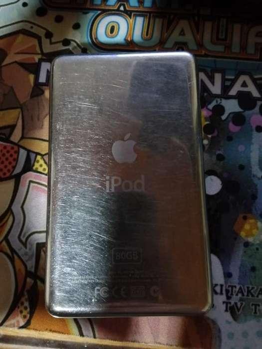 <strong>ipod</strong> 80GB Sin cargador