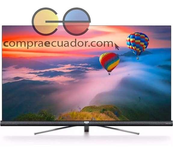 Tcl <strong>televisor</strong> Led 55 4k Uhd Harman Kardon Android Con Barra