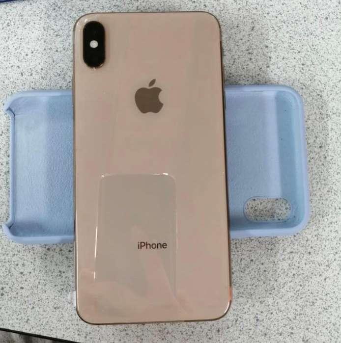iPhone Xs Max Color Oro, 64 Gb Perfecto