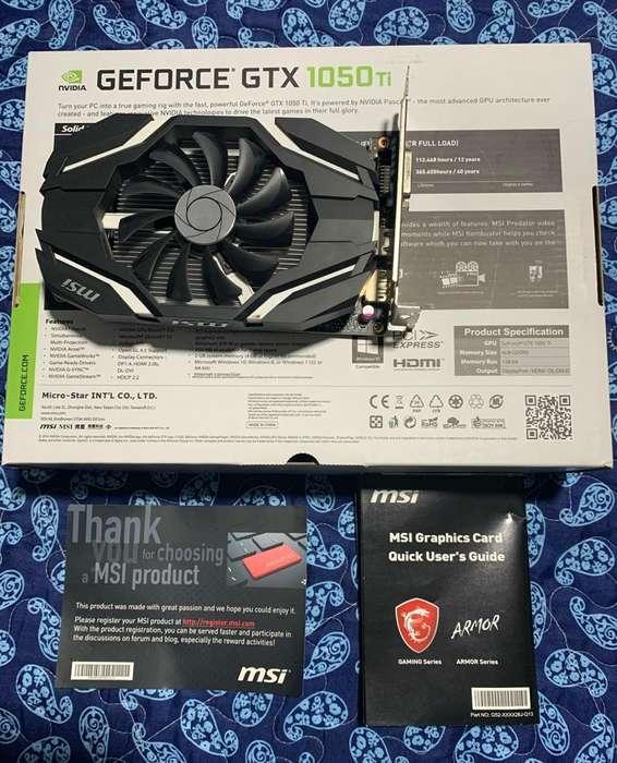 Tarjeta de Video Nvidia Geforce 1050 Ti