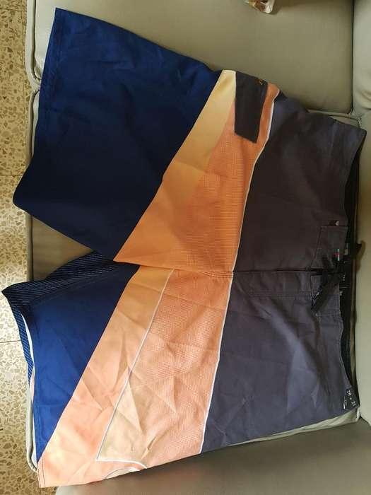 Pantaloneta Quiksilver Americana Talla38
