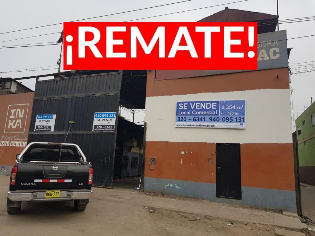¡REMATE! Ahora 2,000,000 hasta el 28.10.19 Local Comercial