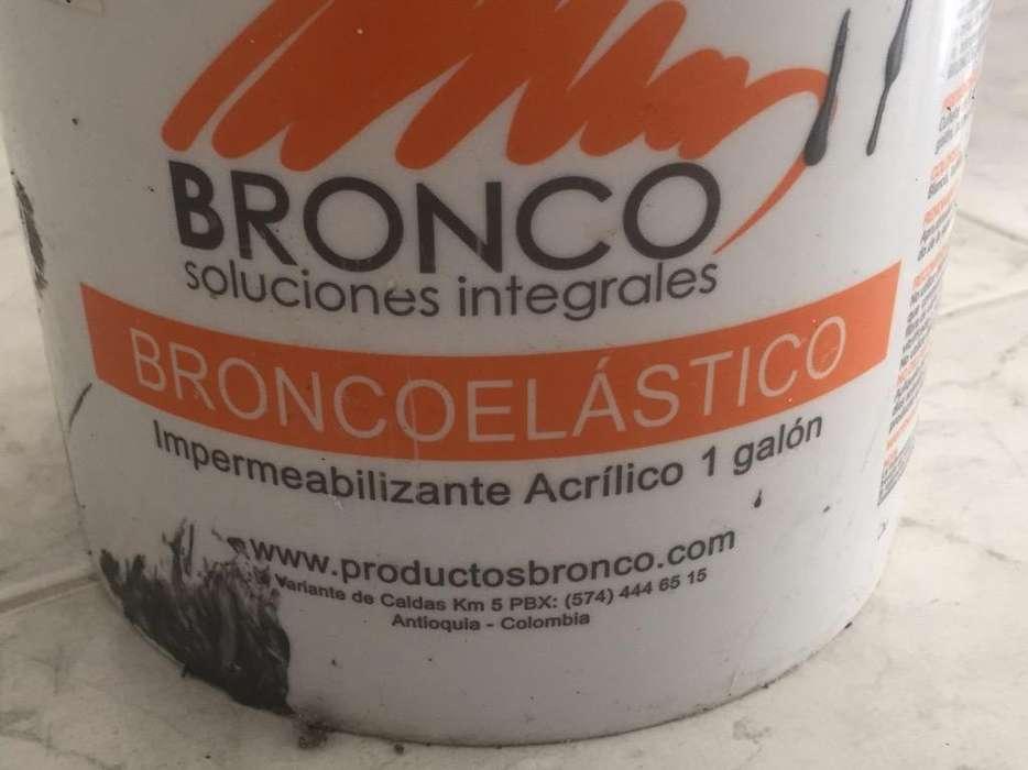 Broncoelastico Gris 3/4 de Galon